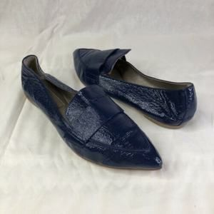AGL Softy Pointy Toe Moccasin Loafer Flat Leather